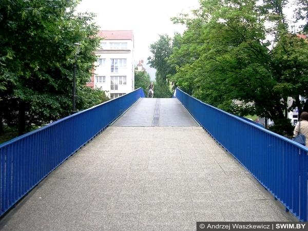 Мосты для велосипедистов, Щецин