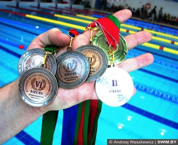 Награды, победители, призёры, плавание, Минск