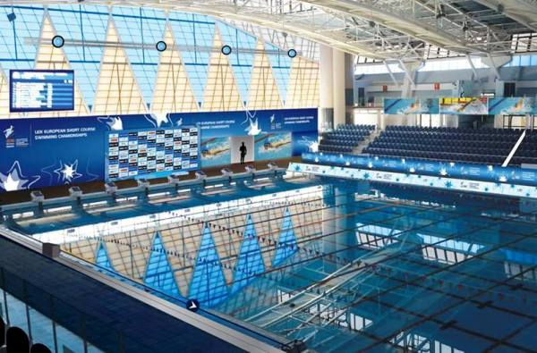 National Swimming Center in Netanya, Israel