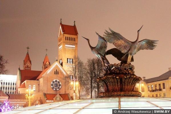 Новый год и Рождество в Беларуси, что посмотреть в Минске