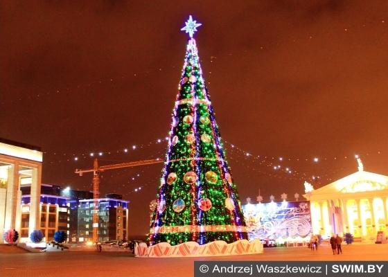 Christmas and New Year in the Belarus