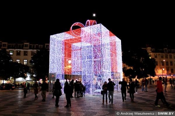 Новый год Лиссабон, Москва, Париж