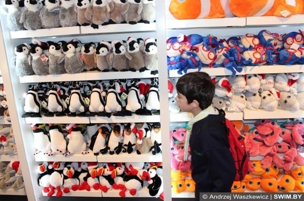 Oceanarium Lisbon Океанариум Лиссабон сувенирный магазин