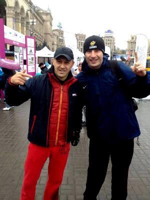 Андрей Онистрат, Одиссей Дельянов, Kyiv Marathon 2016