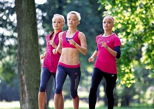 Сёстры-тройняшки из Эстонии на Олимпийских Играх 2016 в Рио-де-Жанейро