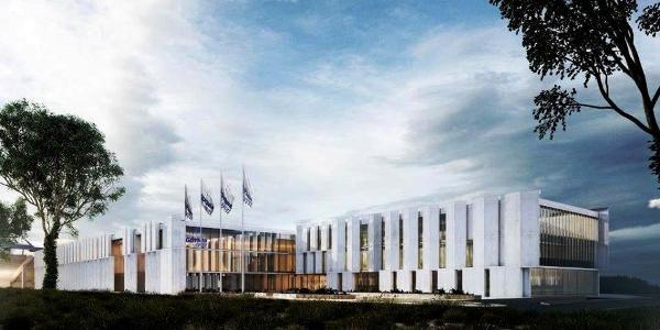 Олимпийский бассейн для плавания в Гдыня