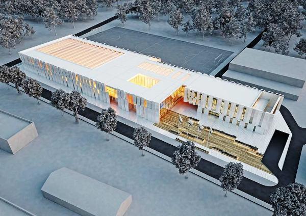 Олимпийский центр плавания в Гдыня