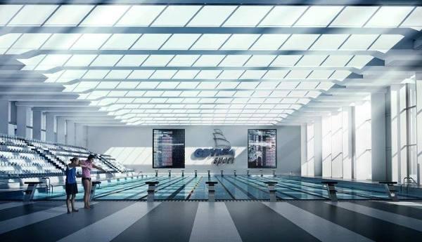 Олимпийский плавательный бассейн 2020, Гдыня