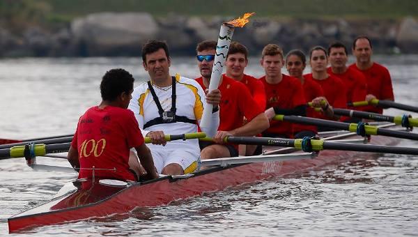 Эстафета олимпийского огня в Бразилии, Рио-2016