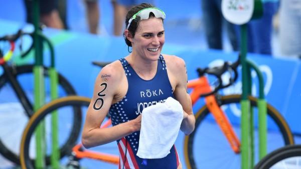 Olympic Triathlon Champion Gwen Jorgensen, USA Triathlon, Olympic gold medal, marathon in Tokyo, Tokyo 2020