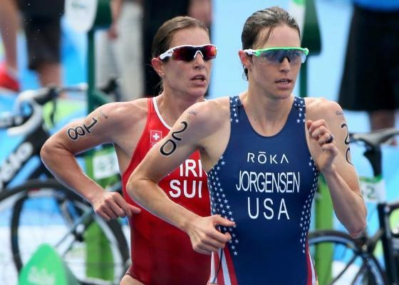 Olympic Triathlon Champion Gwen Jorgensen focus to marathon, Tokyo 2020, Swim.by