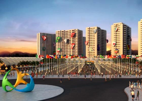 Олимпийская деревня в Рио-де-Жанейро 2016