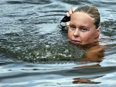 Плавание водный марафон в Рио-2016, Open water swimming marathon, Swim.by