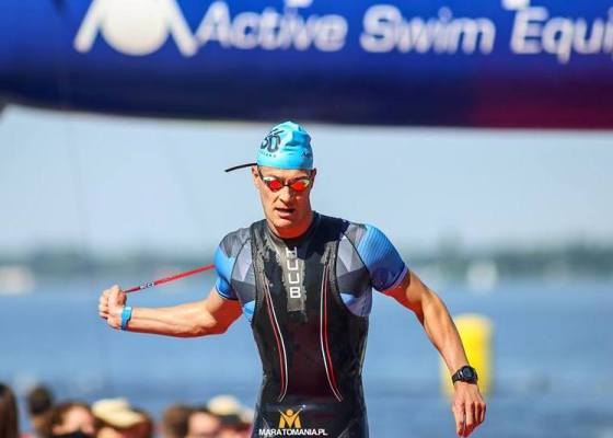 Open Water Swimming, IRONMAN 5150 Warsaw Triathlon 2018