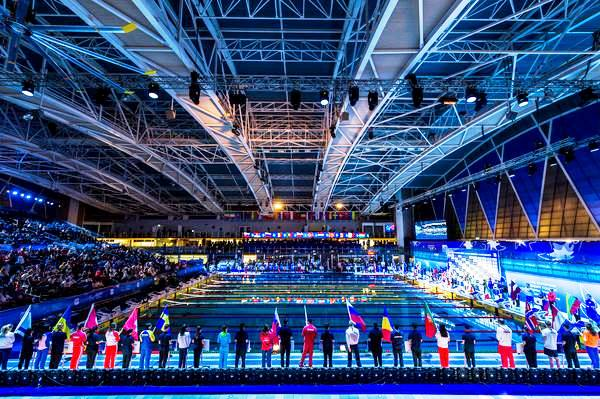 Opening Ceremony of European swimming championships, Netanya