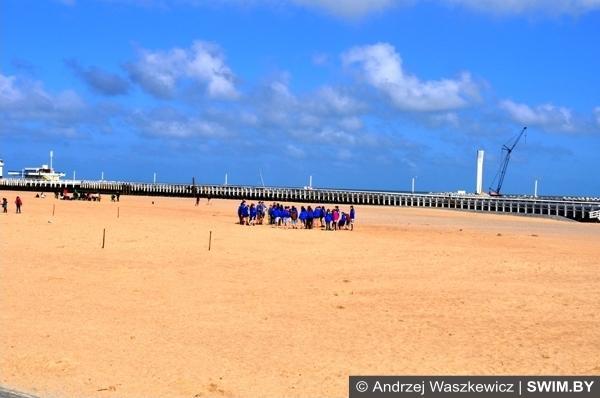 Andrzej Waszkewicz пляжи Остенде Бельгия