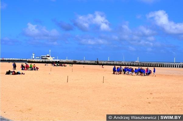 Курорт Остенде песчаные пляжи лучше Рио-де-Жанейро