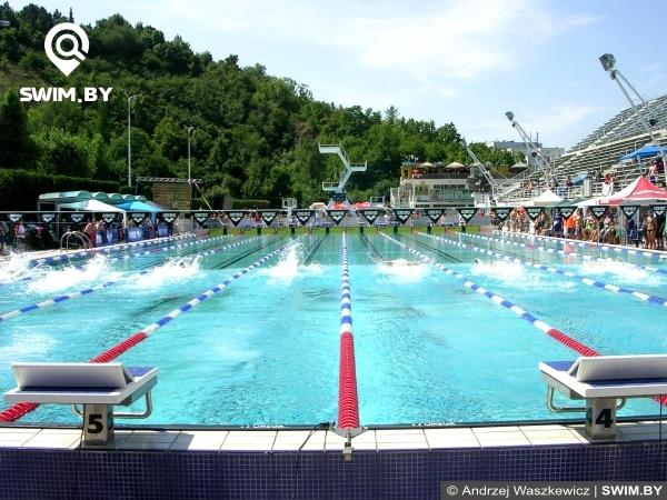 Swimming pool, stadion Podolí, Prague, бассейн для плавания, Прага