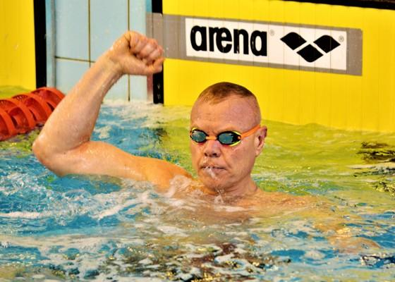 Paralympic Swimmer, Eduardas Klimentjevas, Riga Amber Cup 2019