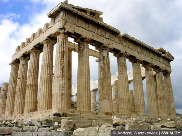 Парфенон, Акрополь, Афины