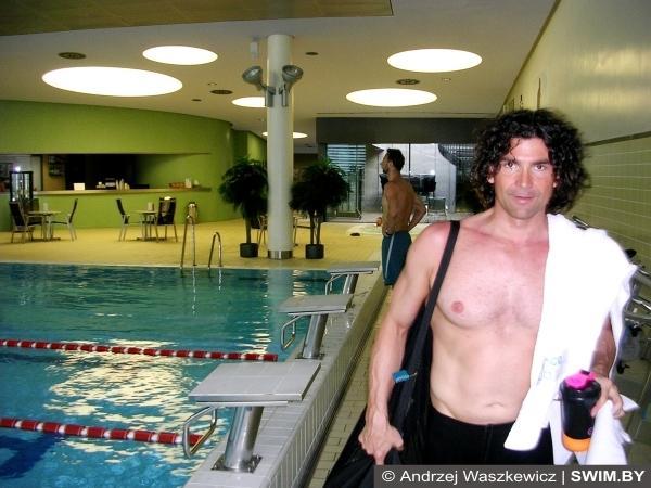 Petr Gregor Czech swimming
