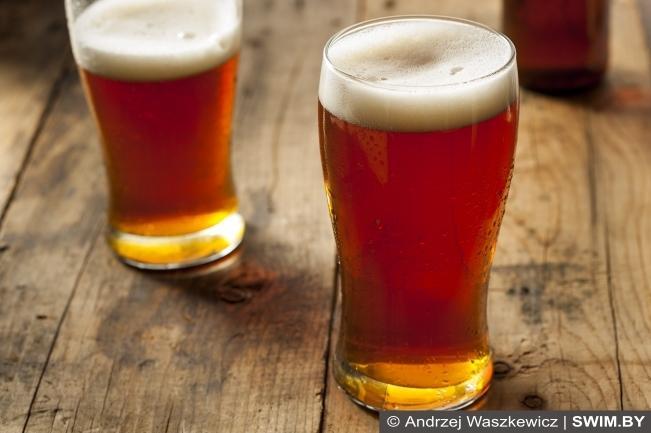 Пиво, спорт, после тренировки