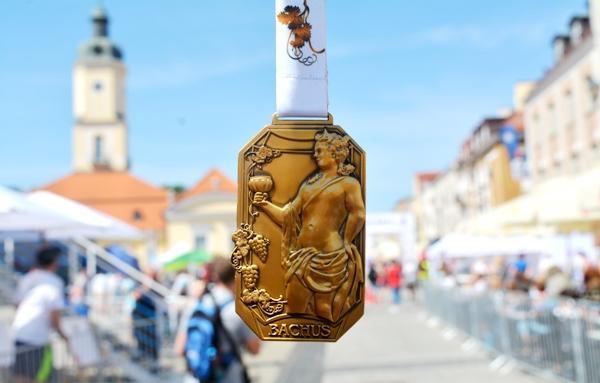 PKO Białystok Half Marathon 2018, finisher medal, www.swim.by, Białystok Półmaraton medal, Swim.by