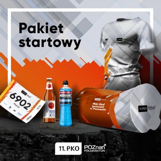 PKO Poznań Półmaraton 2018, Poznań Półmaraton, pakiet startowy półmaratonu Poznań