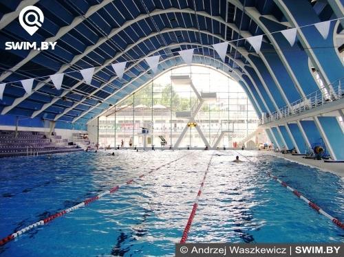 Плавательный стадион Podoli в Праге