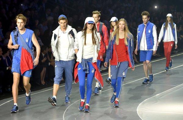 Олимпийская коллекция сборной Сербии для Игр-2016, Олимпийские Игры, Рио-2016
