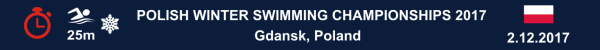 Poland Winter Swimming Championships 2017, Results, Otwarte Mistrzostwa Polski Morsów w Pływaniu 2017, Wyniki, Чемпионат Польши по Зимнему плаванию, Результаты соревнований по плаванию, www.swim.by