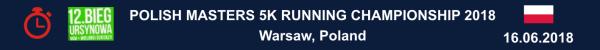Polish Masters Running Championship 2018, www.swim.by, Poland Masters Running Results, Polish Championship 5 km Results, Poland Running Results, Bieg Ursynowa Wyniki, Bieg Ursynowa Results 2018, Swim.by