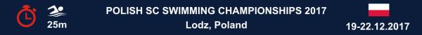 Polish SC Swimming Championships 2017, Results, Zimowe Mistrzostwa Polski Seniorów i Młodzieżowców w pływaniu, Wyniki, Чемпионат Польши по плаванию, Результаты, Swim.by
