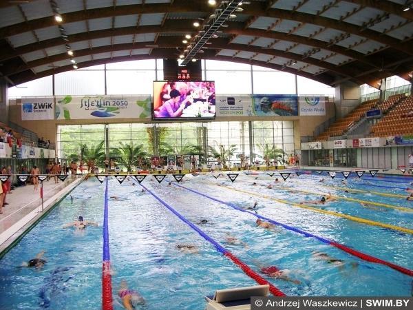 Andrzej Waszkewicz, Polish swimming masters championships, Szczecin Floating Arena