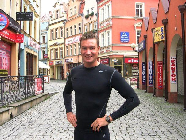 Andrzej Waszkewicz марафонский бег Wroclaw Marathon