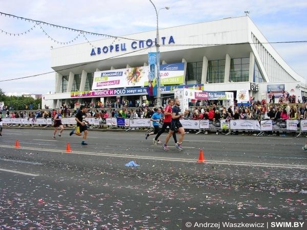 Полумарафон в Минске бег