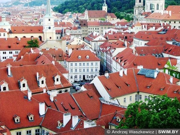 Прага, город, работа, отдых