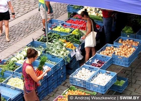 Prague Bio Market, рынок фермерских продуктов