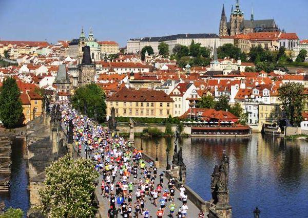 Prague Marathon 2016, беговой марафон в Праге