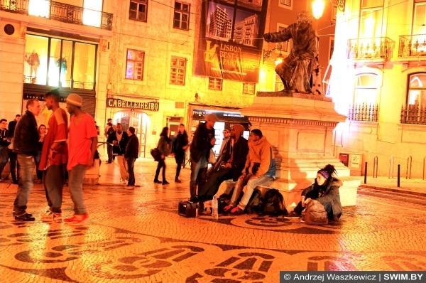 Праздники в Лиссабоне в Португалии