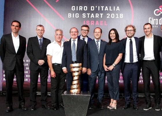 Presentation of Giro d'Italia 2018, Israel, Rome