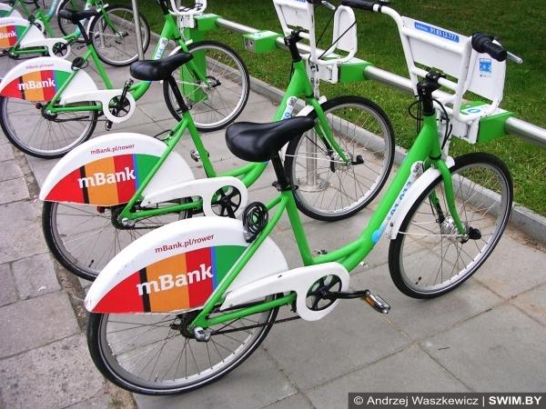 Прокат велосипедов в Польше