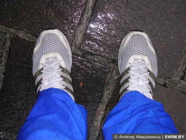 Промокание ног, кроссовки