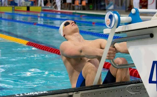 Радослав Кавецки плавание, Люблин 2015