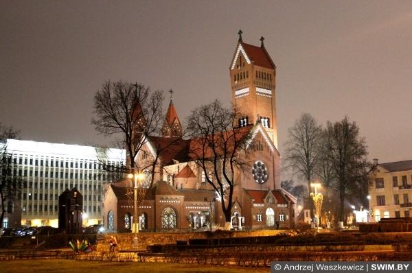 Red church, Красный костёл Минск