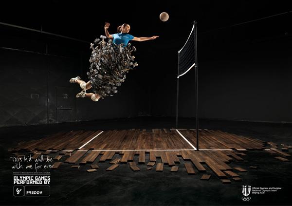Реклама спортивной одежды Freddy