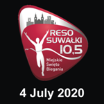 RESO Suwalki Bieg 2020, Suwałki Bieg, Suwalki Half Marathon 2020, Suwałki Półmaraton 2020, RESO Suwałki 10,5
