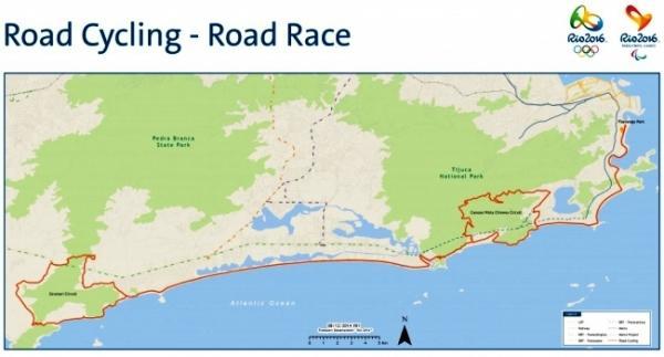Road cycling race, Olympic, Rio 2016, велоспорт на Олимпийских Играх 2016