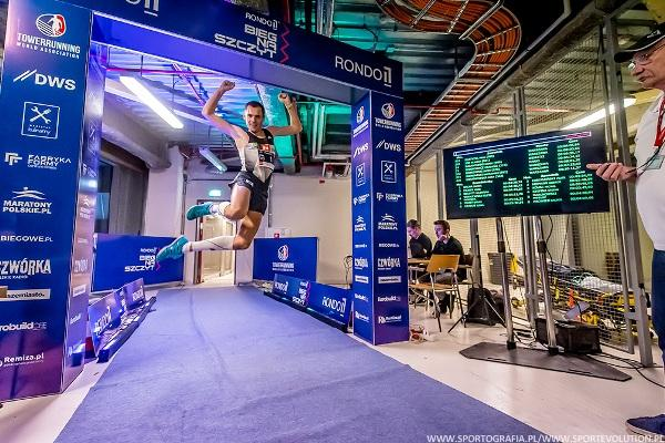 RONDO 1 Run Up, RONDO 1 Run Up Warsaw, Bieg Na Szczyt Rondo 1, www.swim.by, Stair Climbing Running, Towerrunning European Championships 2020, Swim.by
