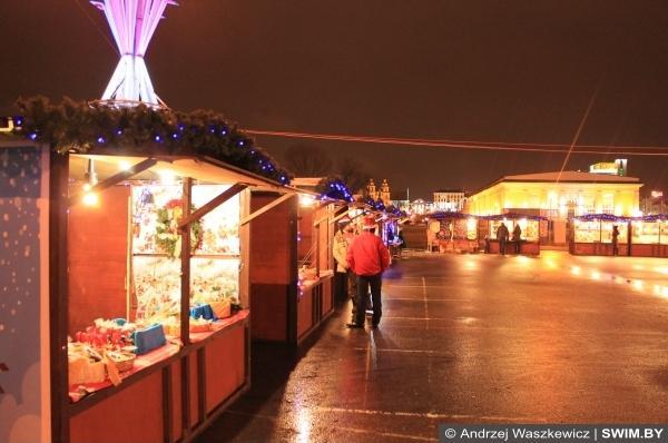Рождество и Новый год в Минске, рождественский базар в Минске